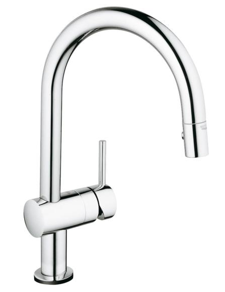 Grohe Minta 32321 Sink Mixer 1/2 Inch Chrome