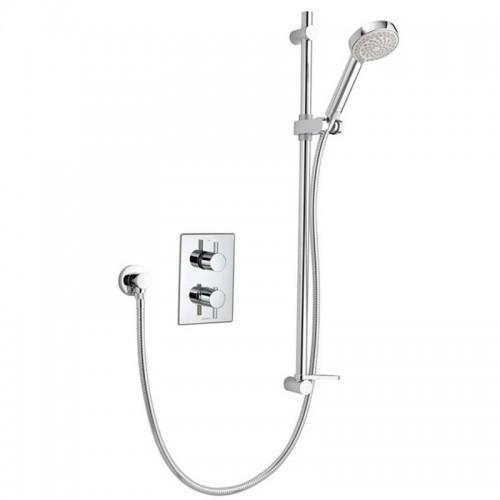 Aqualisa Dream DRMDCV001 Dual Control Valve Mixer Shower With Adjustable Head