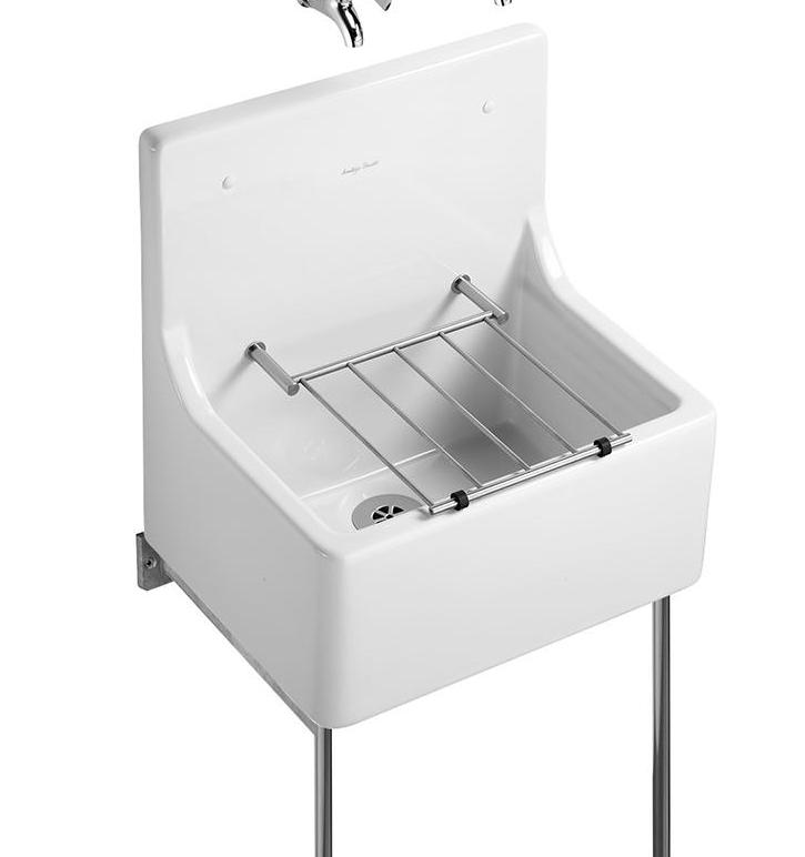 Armitage Shanks S590001 Alder Cleaners' Sink 510mm with Grating White