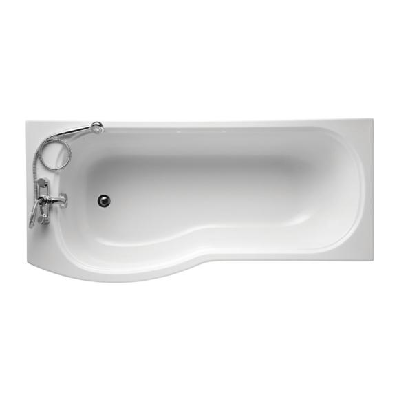 Ideal Standard E760201 Alto Shower Bath 1700 X 800mm Left Hand No Tap Hole White