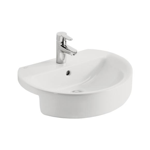 Ideal Standard Concept E792101 550x465 1 Tap Hole Semi Countertop Basin