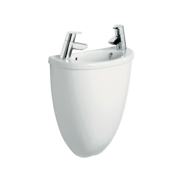 Ideal Standard E617701 Space Micro 400X200mm Hand Basin 2 Taphole With Shroud