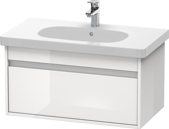Duravit Ketho VKT006302222 850mm Vanity Unit and DCode 034285 Countertop Basin