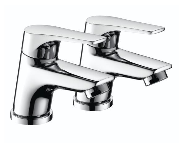 Bristan Vantage VT 1/2 C  Basin Taps Easyfit Chrome