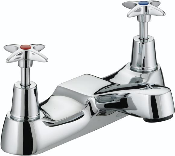 Bristan Value Crosshead VAX BF C Value Crosstop Bath Filler Chrome