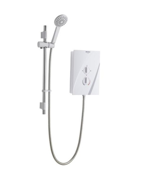 Bristan Cheer CHE85W 8.5Kw Electric Shower White