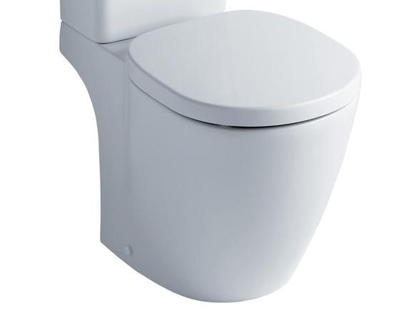 Ideal Standard Concept Space E120501 Compact Close Coupled WC Pan White