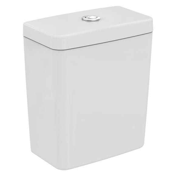 Ideal Standard E785901 Concept/ New Studio Cube Close Coupled Cistern Only With Dual 6/4 Flush White