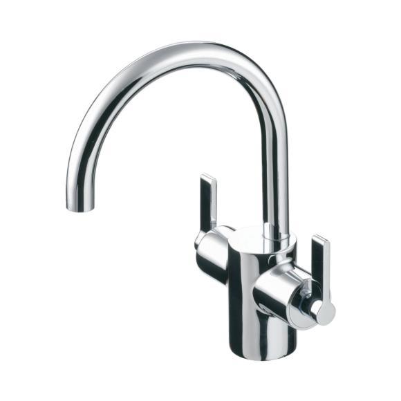 Ideal Standard | Silver | E0066AA | Basin Mixer