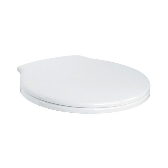 Ideal Standard E709101 Space Toilet Seat, S/S Hinges White