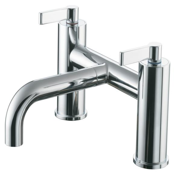 Ideal Standard Silver E0072AA Deck Bath Filler