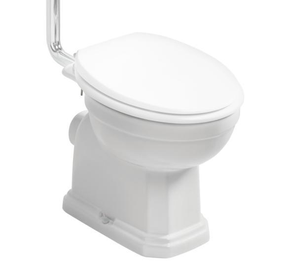 Ideal Standard Waverley U470301 Low/High Level Toilet Pan