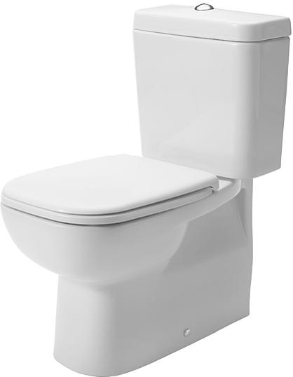 Duravit | D Code | Complete Toilet | Close Coupled | QKIT00006