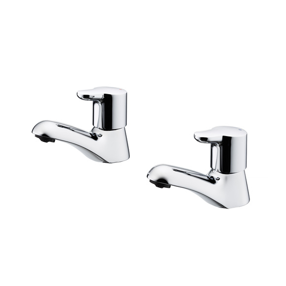 Ideal Standard | Elements | B9887AA | Pillar Taps  Basin Tap