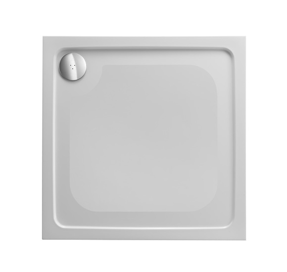 Just Trays Fusion ASF760140 760mm Square Anti-Slip Shower Tray