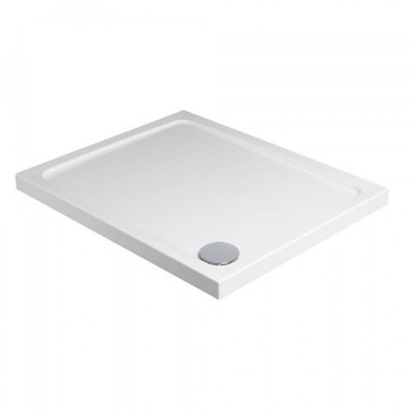 Just Trays Fusion F100100 1000mm Square Shower Tray