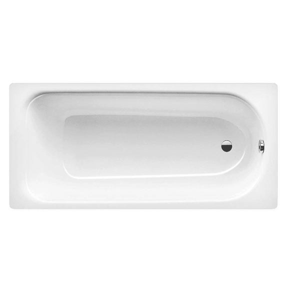 Kaldewei Eurowa 1700 x 700mm 2 Tap Hole Anti-Slip Steel Bath Model 312