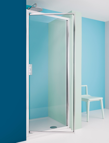 Simpsons Supreme 7002 Pivot 600mm+ Shower Door