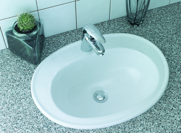 Lecico Atlas ASWHVBA2 530mm 2 Tap Hole Vanity Basin