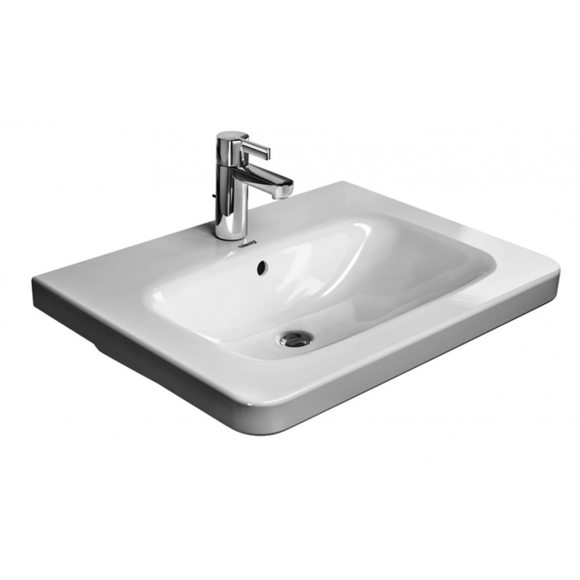 Duravit Durastyle 2320650000 650x480 1 Tap Hole Wall Mounted Basin