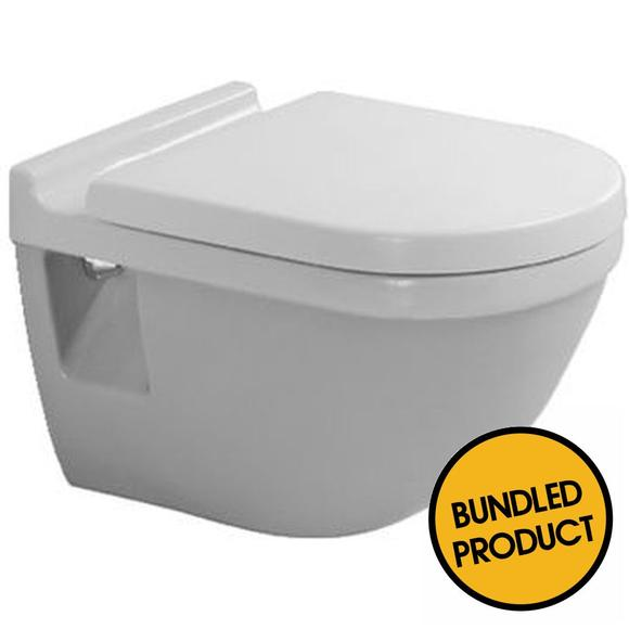Duravit Starck 3 Wall Hung Toilet - QKIT00009