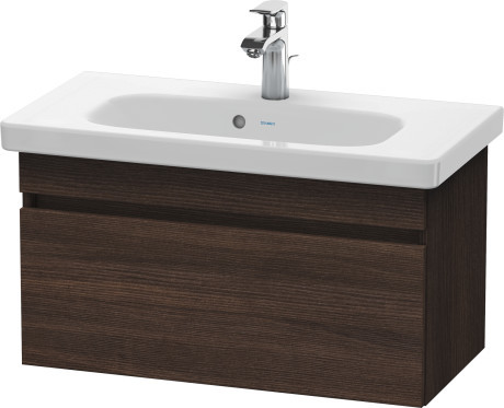 Duravit Durastyle DS639905353 730x398 Wall Mounted Vanity Unit Chestnut Dark