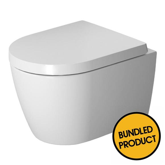 Duravit Me By Starck Compact Wall Hung Toilet - QKIT00010