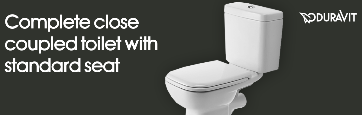 Duravit D-Code Horizontal Outlet Close Coupled Toilet