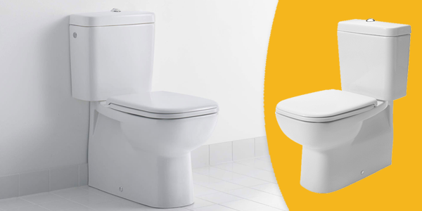 D-Code Close Coupled Toilet