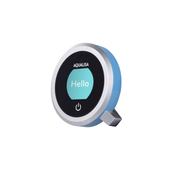 Aqualisa Q QTD.AA.04 Controller & Handset Accent Ring Pack Lagoon Blue