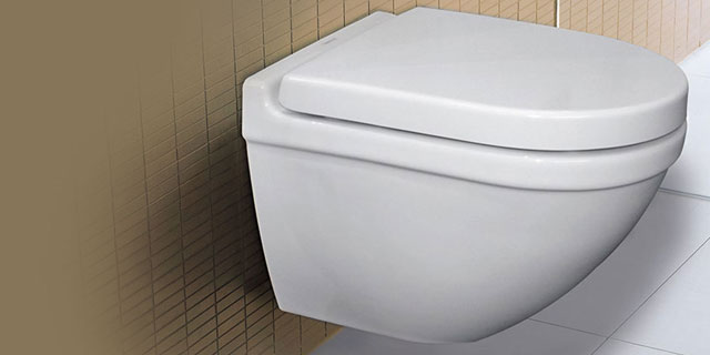 Starck 3 wall hung toilet