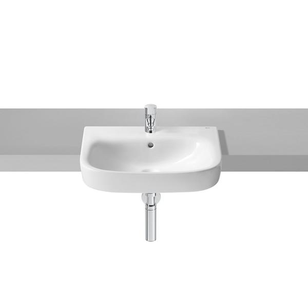 Roca Debba A32799S000 520mm 1 Tap Hole Semi Countertop Basin