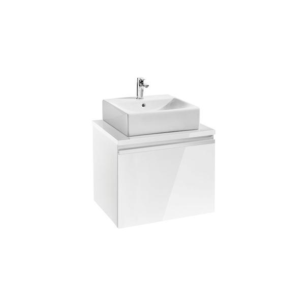 Roca Heima 856914806 600mm Basin Unit Gloss White