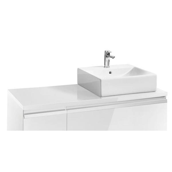 Roca Heima 856922806 1100mm Right Hand Worktop Gloss White