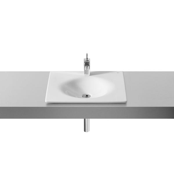Roca Kalahari A327894000 590mm 1 Tap Hole Countertop Basin