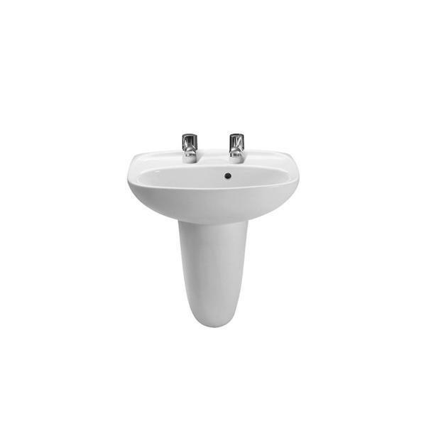 Roca Laura A325315000 450mm 2 Tap Hole Basin