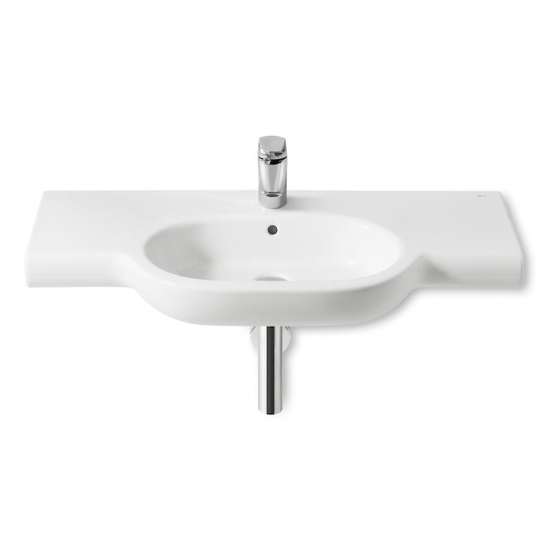 Roca | Meridian-N | A32724B000 | 1 Tap Hole | Wall Mounted Basins
