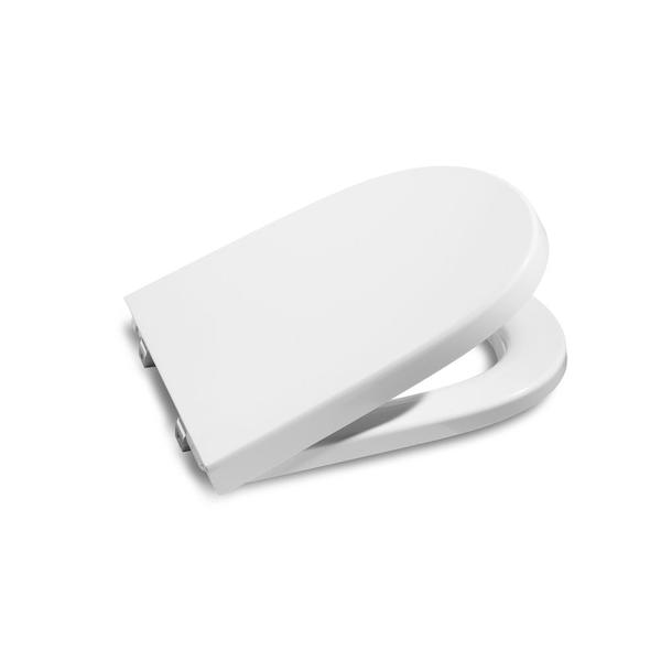 Roca Meridian-N A8012AC004 Soft Close Compact Toilet Seat & Cover