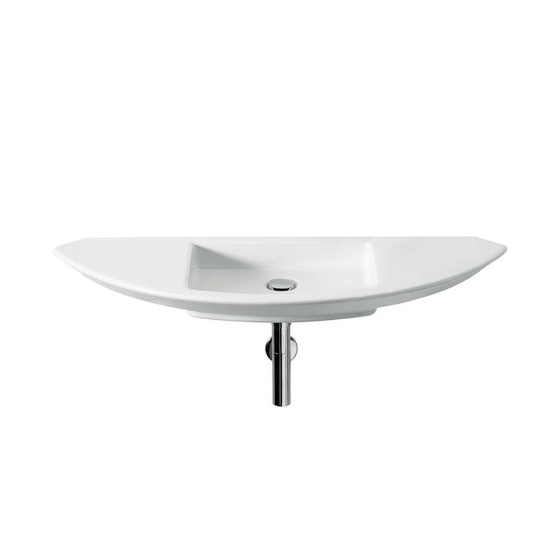 Roca | Mohave | A327879000 | No tap hole | Wall Mounted Basins
