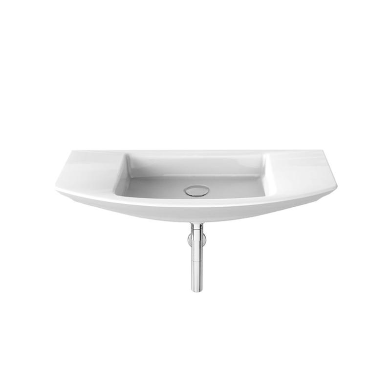 Roca | Mohave | A327889000 | No tap hole | Wall Mounted Basins