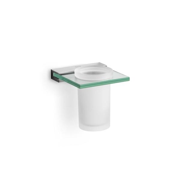 Roca Nuova A816523001 Tumbler Holder & Glass