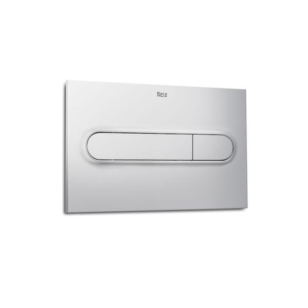 Roca PL1 A890095002 Dual Flush Operating Plate Grey Lacquer