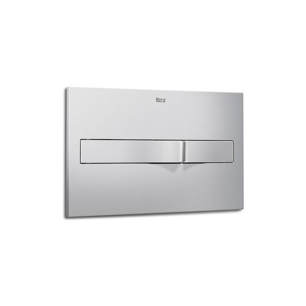 Roca PL2 A890096002 Dual Flush Operating Plate Grey Lacquer
