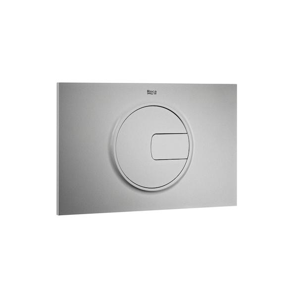 Roca PL4 A890098002 Dual Flush Operating Plate Grey Laquer