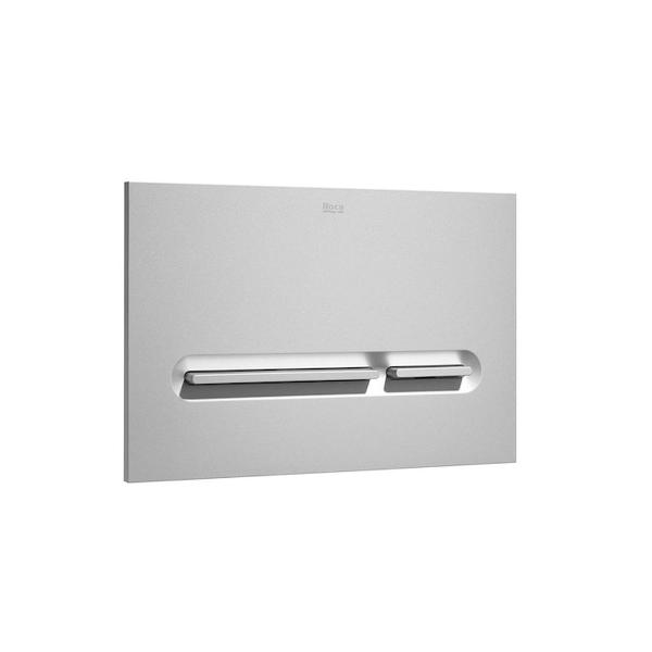 Roca PL5 A890099002 Dual Flush Operating Plate Grey Lacquer