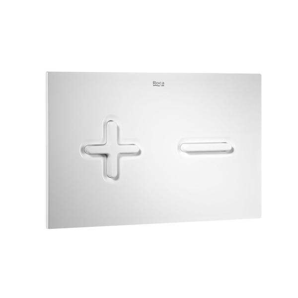 Roca PL6 A890085000 Dual Flush Operating Plate White