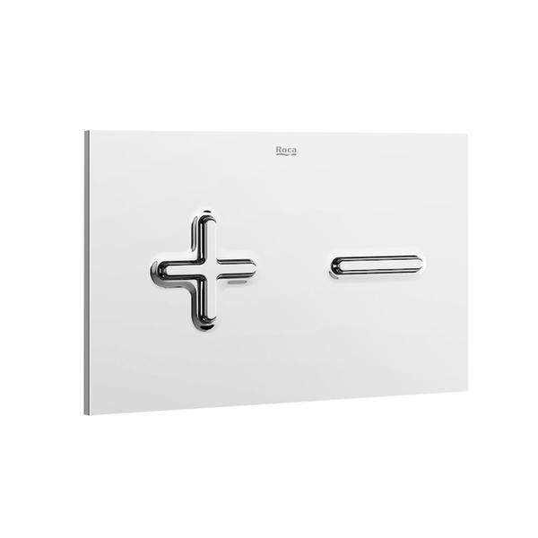 Roca PL6 A890085001 Dual Flush Operating Plate Chrome