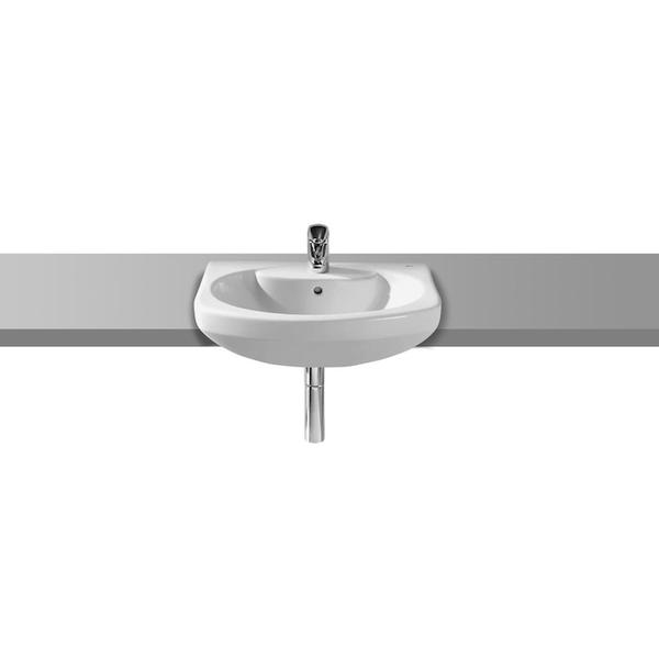 Roca Senso A327516000 560mm 1 Tap Hole Semi Countertop Basin