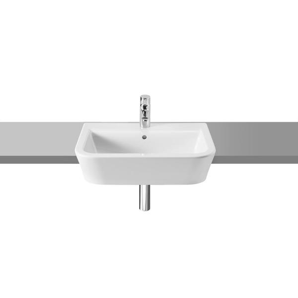 Roca The Gap A32747S000 560mm 1 Tap Hole Semi Countertop Basin