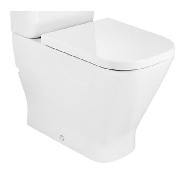 Roca The Gap A34247C00U Comfort Height Back to Wall Pan
